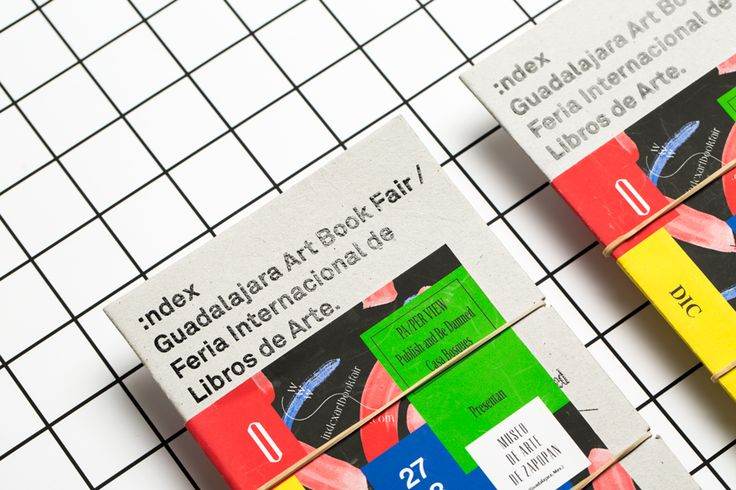 Index Art Book Fair designed by Savvy. #print