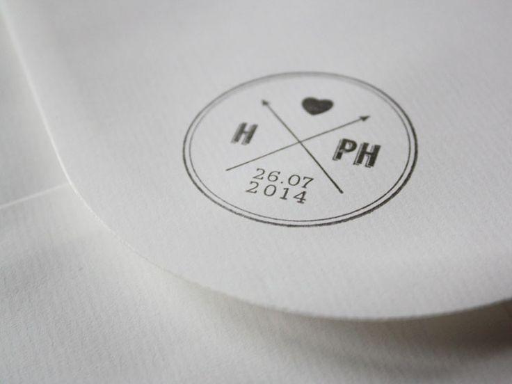 Tampon mariage I Design by Crème de Papier