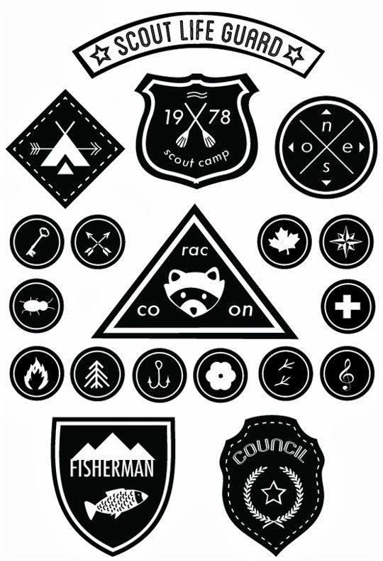Poppytalk: DIY Downloadable Scout Badges