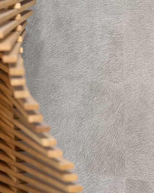 31 best grey amber living room images on pinterest for Fur wallpaper room