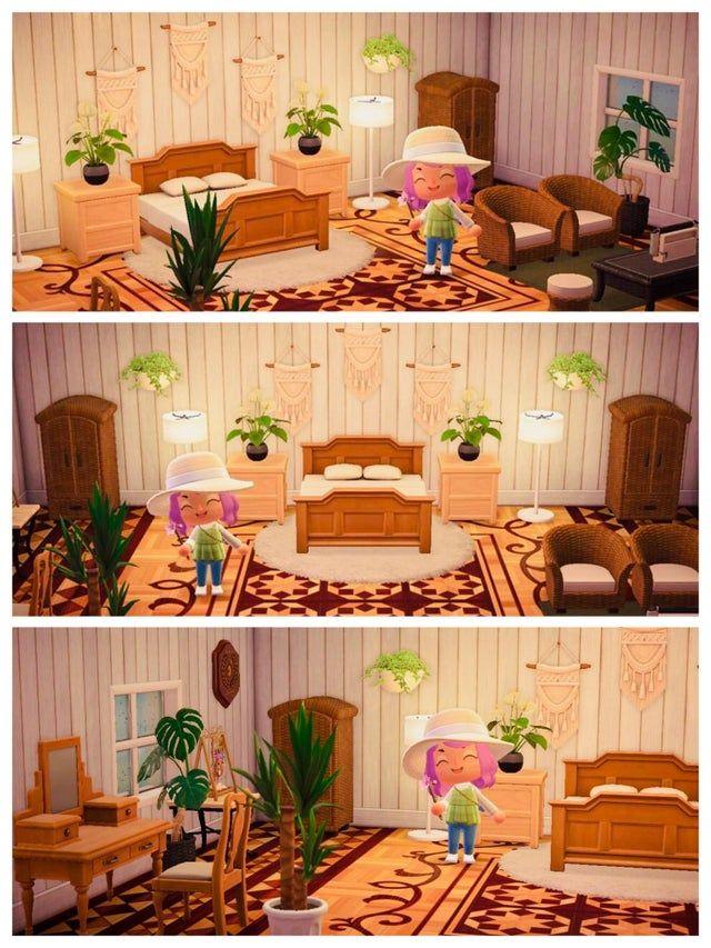 Pin on Animal crossing new horizon on Animal Crossing New Horizons Bedroom Ideas  id=31371
