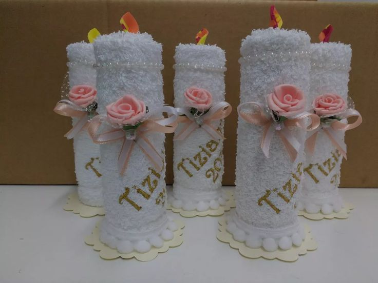 souvenir comuniòn bautismo toalla de mano