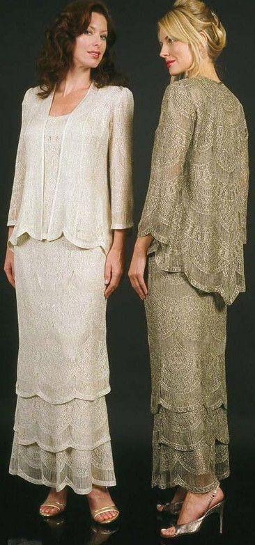 Lacy dress & jacket
