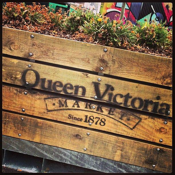 Queen Victoria Market in Melbourne, VIC