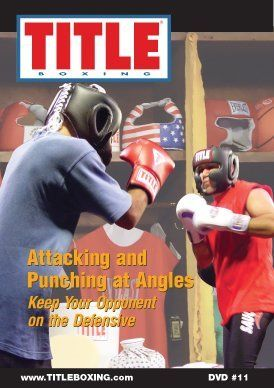 TITLE DVD - Attacking and Punching at Angles by Title Boxing. $19.99. Watch the truly gifted and elite world champion boxers and you will discover that they are mostly unconventional in their styles. They keep their opponents on the defensive because they attack and unleash punches in unordinary fashion. Why be predictable and like the masses? By varying your attack and punching angles you can keep your opponents on their heels and stay in control of the action. Jeff Fenech,...