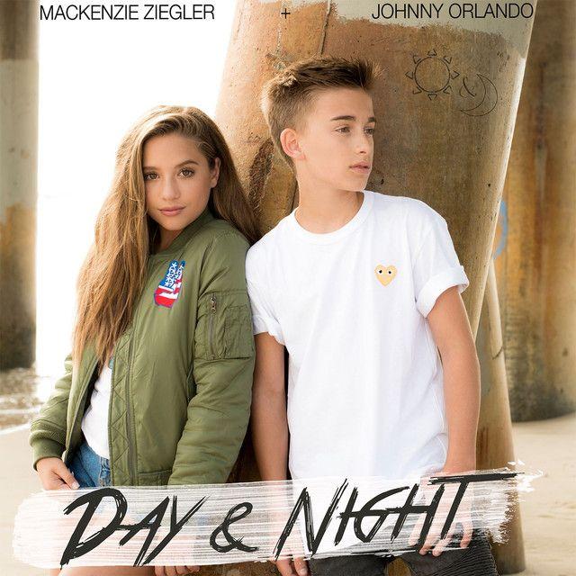 """""""Day & Night"""" by Johnny Orlando Mackenzie Ziegler was added to my Tomorrow's Hits playlist on Spotify"""