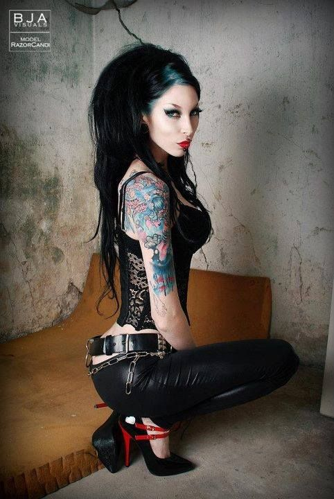 Punk goth nerd fotos desnudas gratis