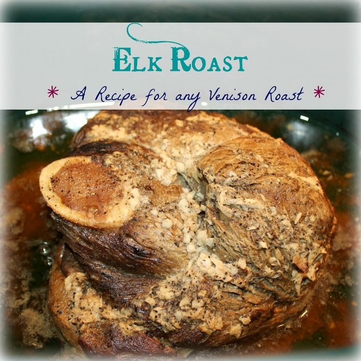 how to cook elk roast