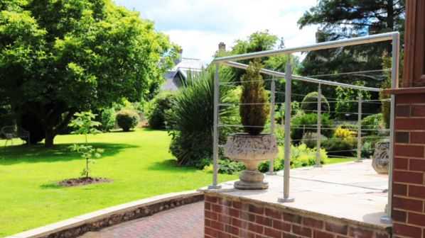 #Installation Complete! Fitted by our lovely customer, the #WireRopeBalustrade easily installed #DIY