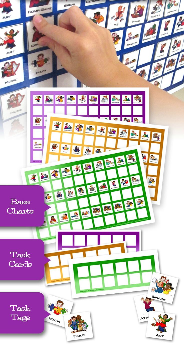 FREE printable task cards-easy way to organize independent learning throughout the school day without having the clunkiness of workboxes.