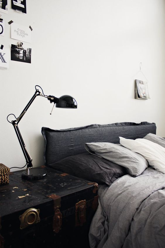 33 Stylish Masculine Headboards For Your Man's Cave Bedroom