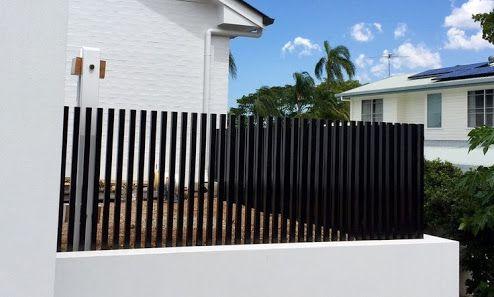 Image result for vertical batten fence