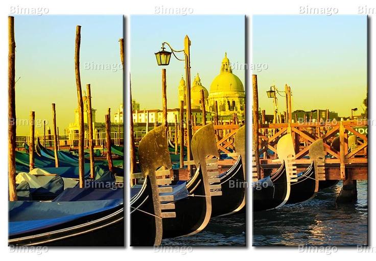 Tableau Gondoles à Venise