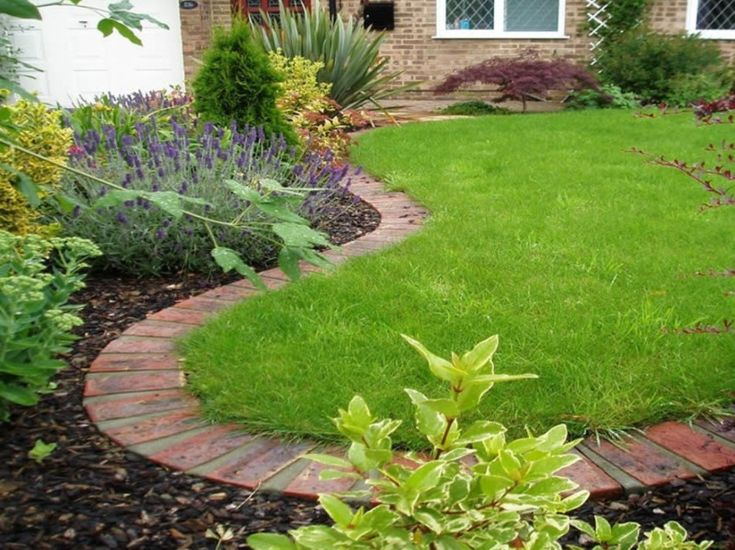 1000 ideas about inexpensive landscaping on pinterest for Cheap edging ideas