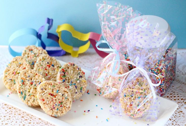 Easter Egg Cake Batter Rice Crispy Treats - Your Cup of Cake