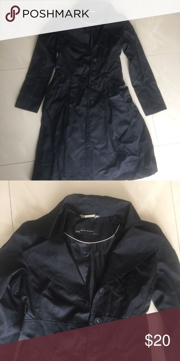 Zara winter coat Hits below the knees Zara Jackets & Coats Trench Coats