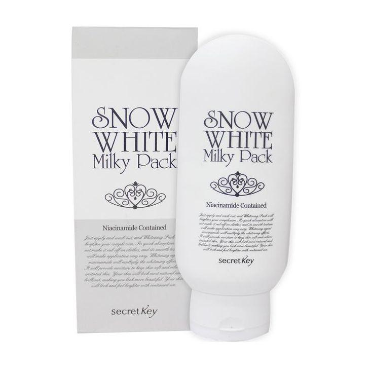 Authentic K-Beauty Secret Key Snow White Milky Pack