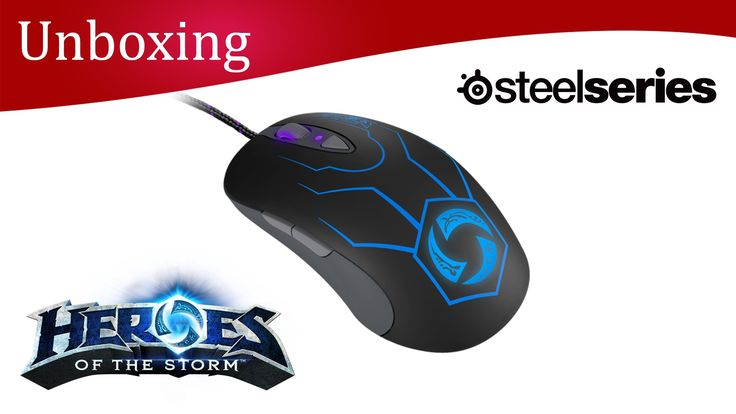 SteelSeries Heroes of the Storm Mouse Unboxing
