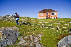 Hiking near Tilting, Fogo Island