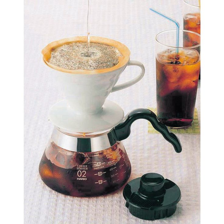 Ceramic Coffee Pour Over Dripper Filters Hand Drip Coffee Filter Cone 2 Sizes