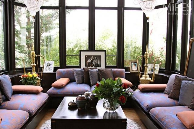 33 best images about v randas bow window on pinterest veranda magazine window and mousse. Black Bedroom Furniture Sets. Home Design Ideas