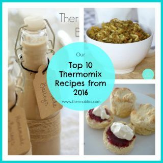 best thermomix recipes from 2016