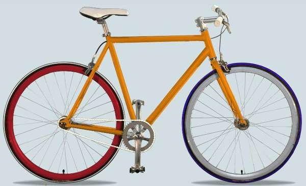 Customized Rainbow Bikes - Jellybean Bikes Allow You to Take the Wheel and 'Color Your Ride' (GALLERY)