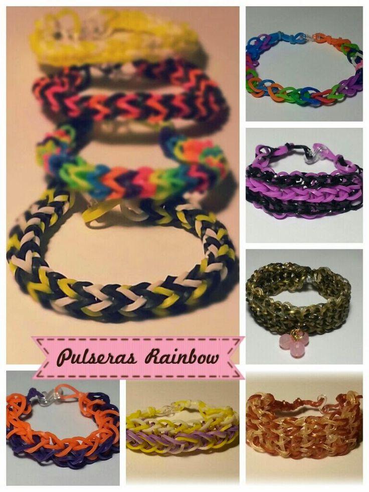 Pulseras de gomitas - Rainbow Loom