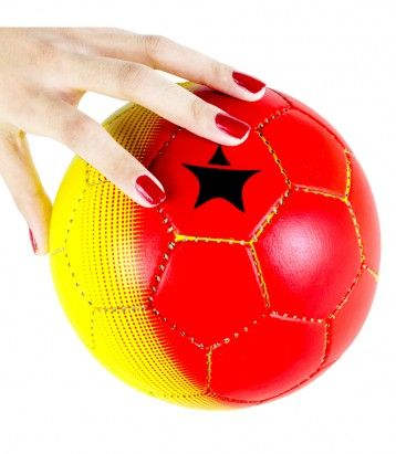 Kids Mini Football Color Availability :Red & Yellow Size : Radius 46cm  Type :Kids Mini Football