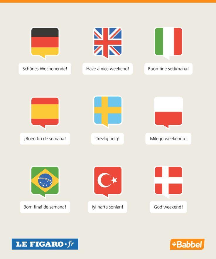 Bon weekend! El Conde. fr: La fête des Langues Européennes
