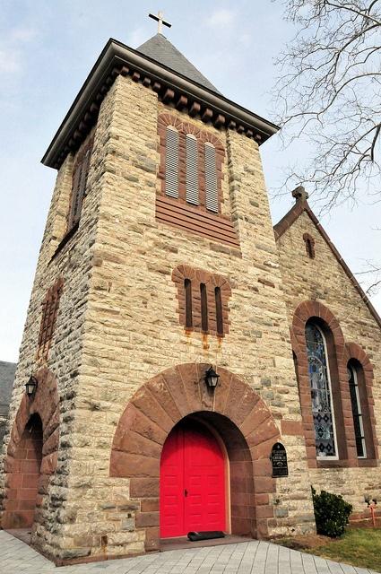 St James Episcopal Church Leesburg Virginia by mbell1975, via Flickr
