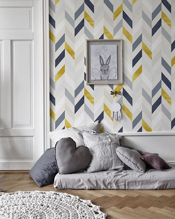 Colorful Lines Removable Wallpaper Traditional White Print