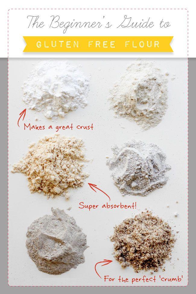 Gluten Free Flour Guide | www.beardandbonnet.com | #glutenfree #gf