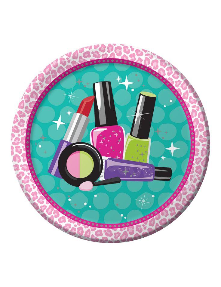 8 piatti in cartone Make Up su VegaooParty, negozio di articoli per feste. Scopri il maggior catalogo di addobbi e decorazioni per feste del web, sempre al miglior prezzo!