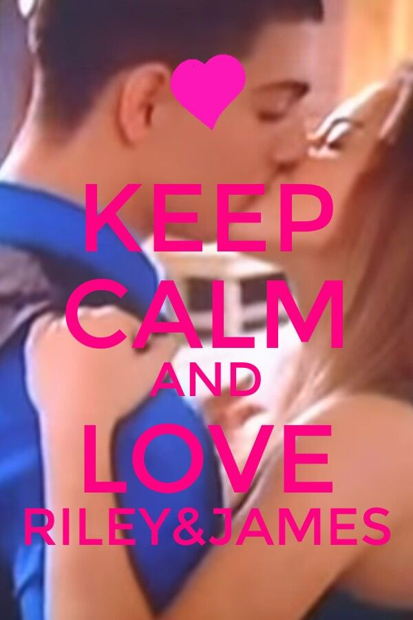 Keep calm and love Riley&James (Jiley)<3