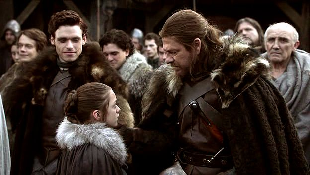 Ned and Robb Stark from Game of Thrones | 21 Literary Characters Who Shouldn't Have Died