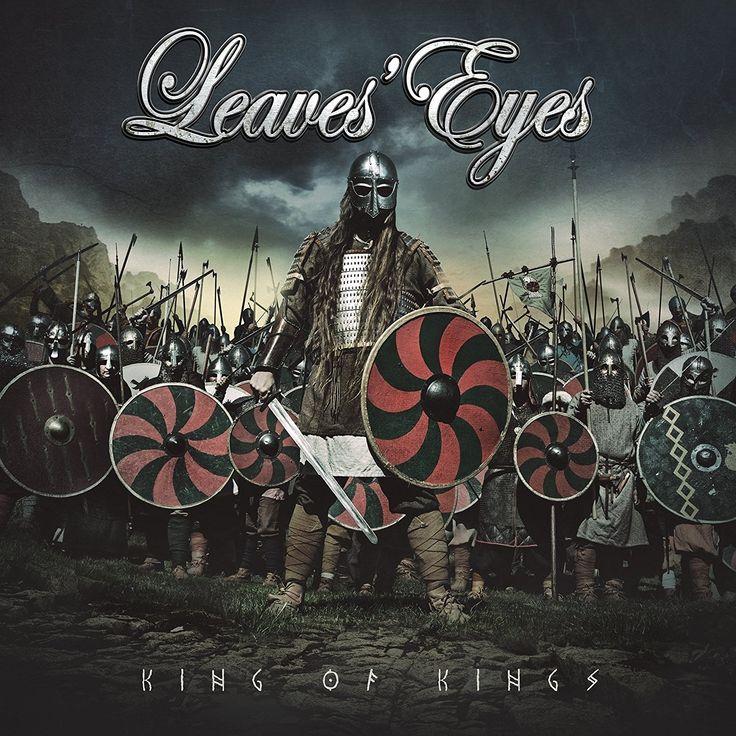 Leaves' Eyes [King of Kings]. 2016.  Artwork : Stefan Heilemann. http://heilemania.de/