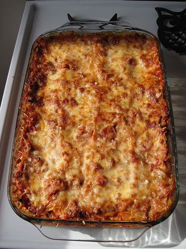 Probably the best lasagna recipe I've ever tried, and less ingredients too