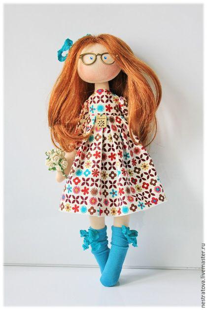 Коллекционные куклы ручной работы. Заказать Тая. Интерьерная кукла.. Олеся. Ярмарка Мастеров. Кукла, подарок женщине, коллекционная кукла