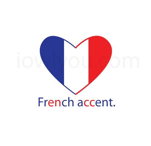 i love you in french writing accent
