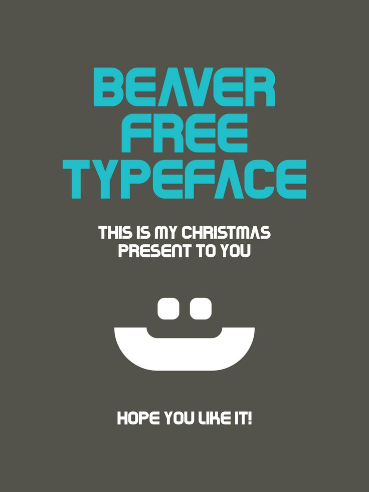 108 Best Free Logo Fonts for Your 2016 Brand Design Projects - Beaver is an uppercase design, which is great for headlines, titles, and poster design.
