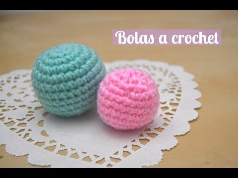 Tutorial cabezas o bolas de Amigurumi Universe. Crochet Ball. - YouTube