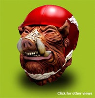 Woo Pig Sooie! Battlehead mask!!!!: Razorbacks Stuff, Pigs Sooie, Battlehead Masks, Woo Pigs, Things Razorbacks
