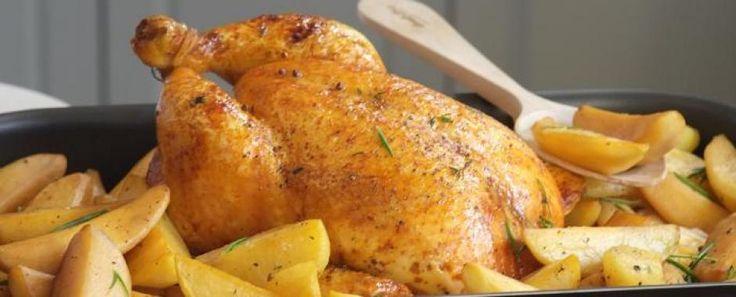 Μαριναρισμένο Κοτόπουλο στο φούρνο με Πατάτες - Knorr.gr