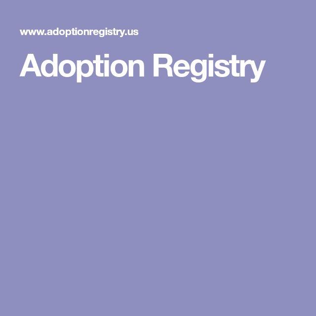 Adoption Registry