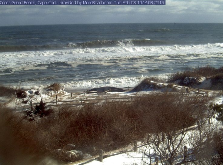 Coast Guard Beach After the Storm 2-3-15