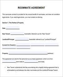 Image result for college roommate agreement template room rental agreement