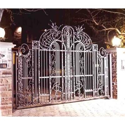 Fence & Gate from Wrought Iron Art Ltd.