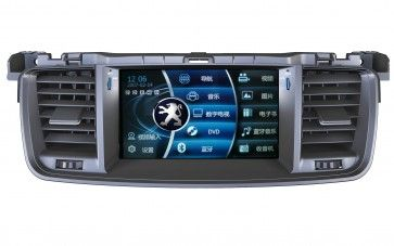 Autoradio DVD GPS Peugeot 508 avec écran tactile & fonction Bluetooth,USB,TV,Can Bus,Ipod