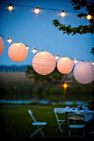 Pretty lights. One thing I would love most is a beautiful garden where all my friends and I can sit round in then summer with pretty lights and lots of wine. And not a care in the world.